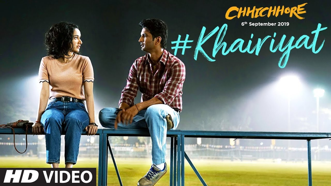 Khairiyat-chhichhore-Sushant, Shraddha | Pritam, Amitabh Bhattacharya lyrics