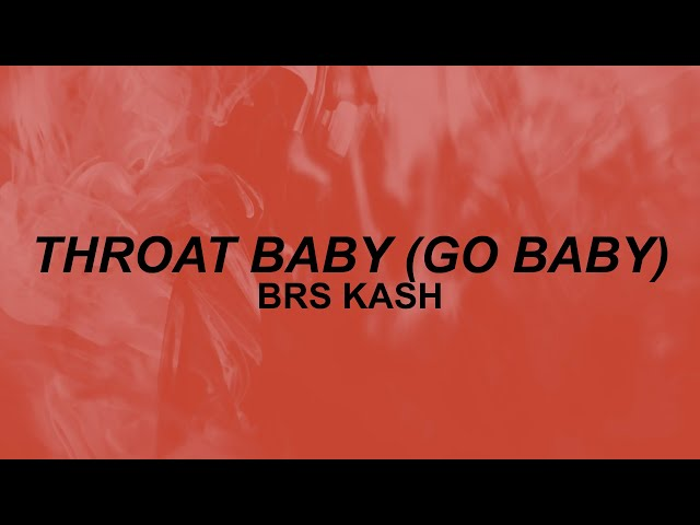 throat baby lyrics